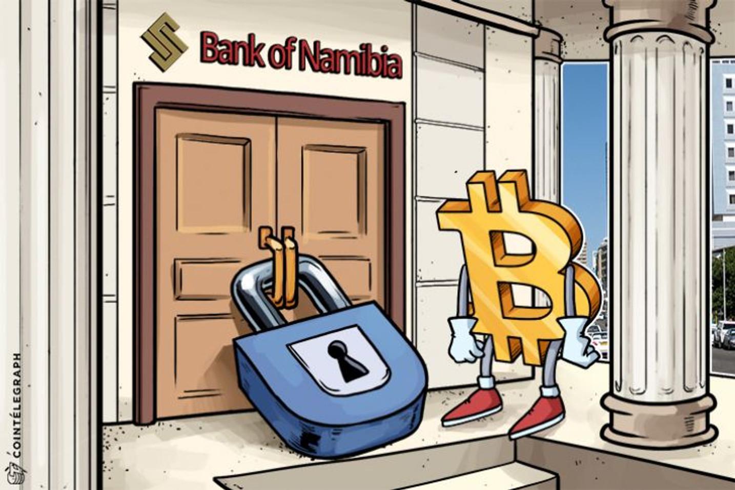 ナミビア銀行は施行後50年の法律に基づいて、ビットコインの取引を認めない方針