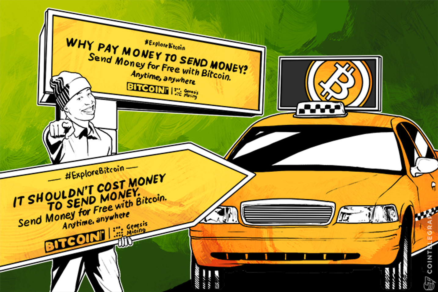 Bitcoin Awareness Campaign Launches Across Major U.S. Cities
