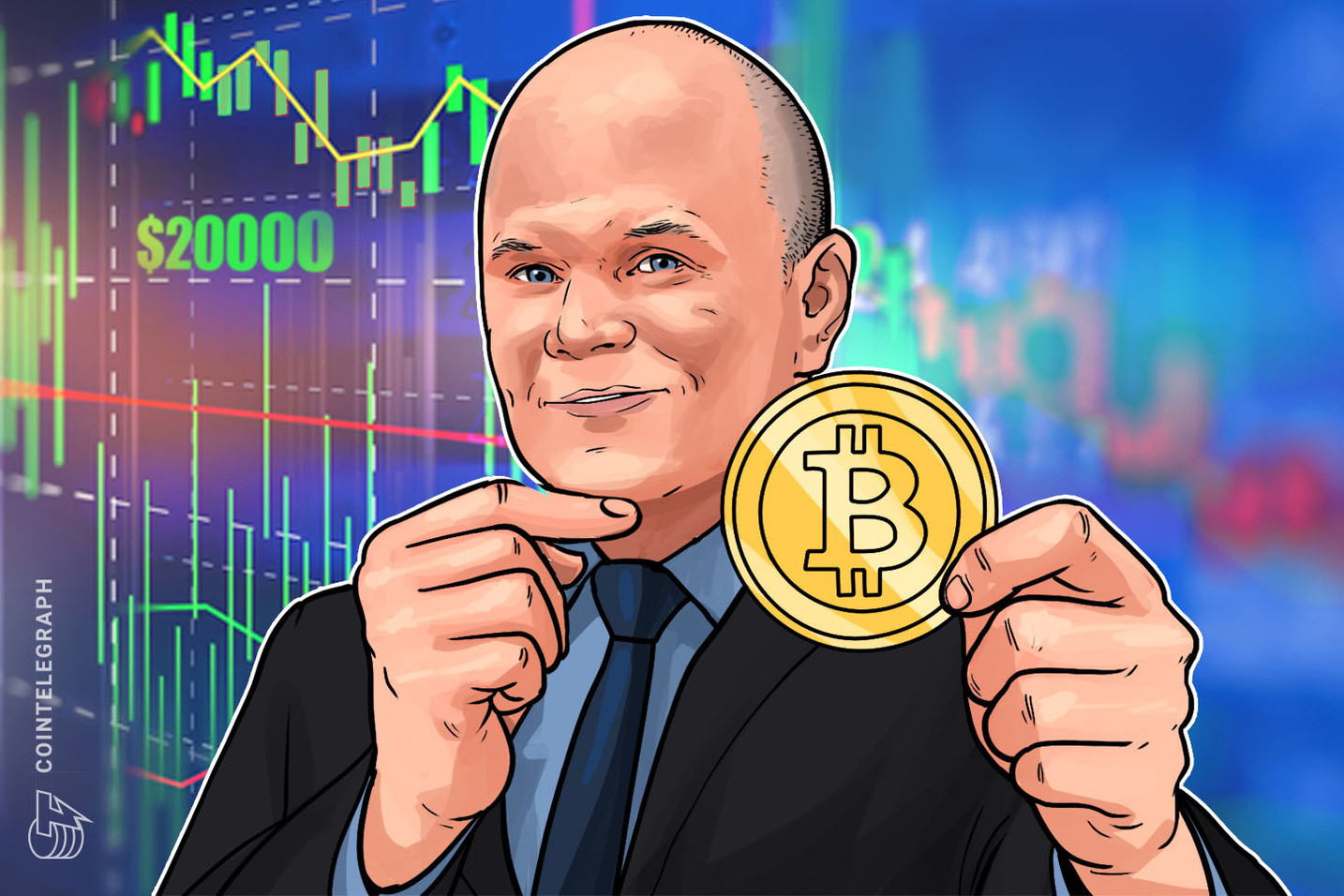 Galaxy Digital CEO Michael Novogratz: Bitcoin Should Cross $20,000 Within 18 Months