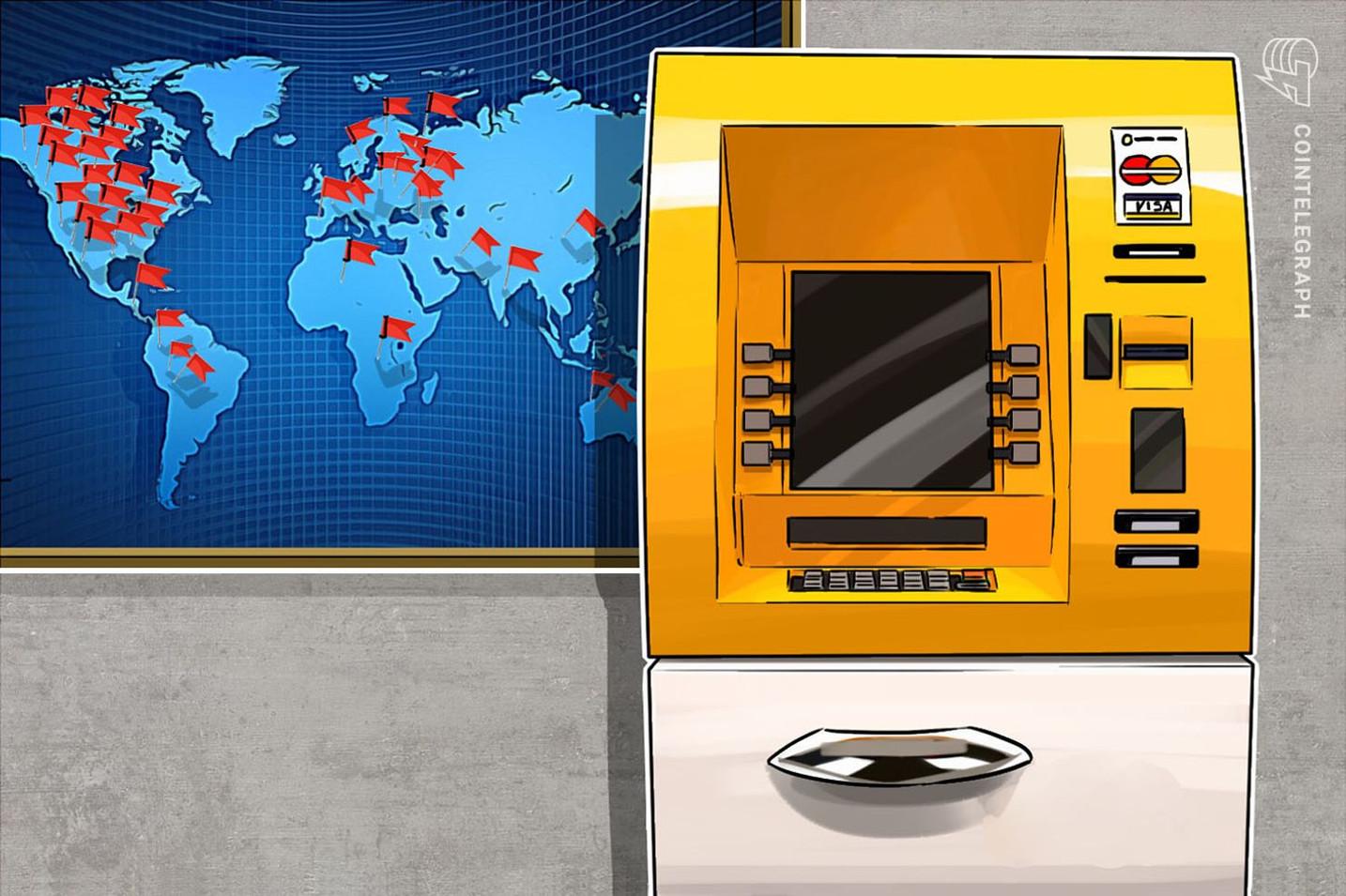 A pesar de la crisis, los cajeros automáticos de Bitcoin se extienden por el mundo