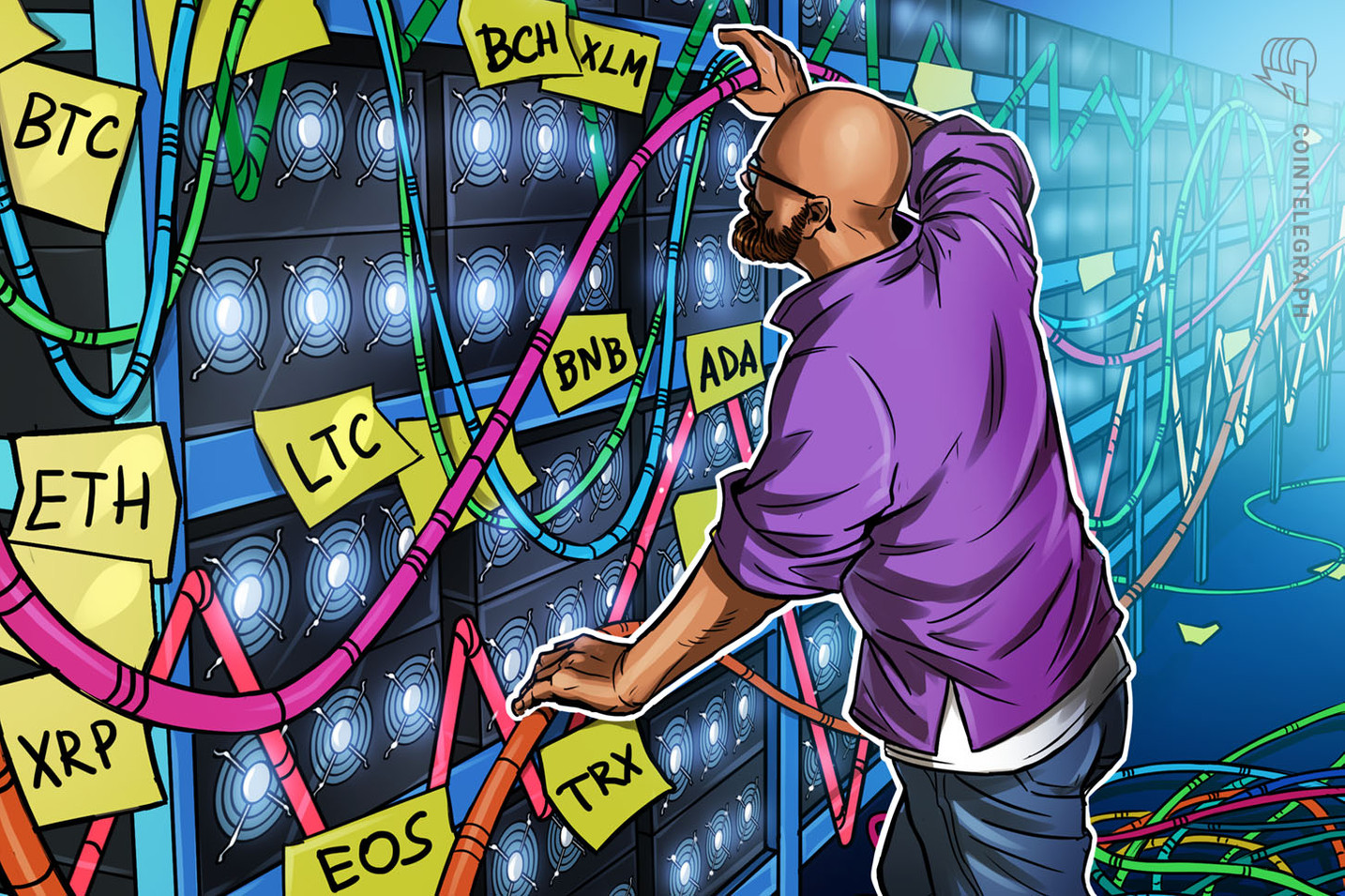 Bitcoin, Ethereum, Ripple, Bitcoin Cash, EOS, Litecoin, Binance Coin, Stellar, Cardano, TRON: Price Analysis April 24