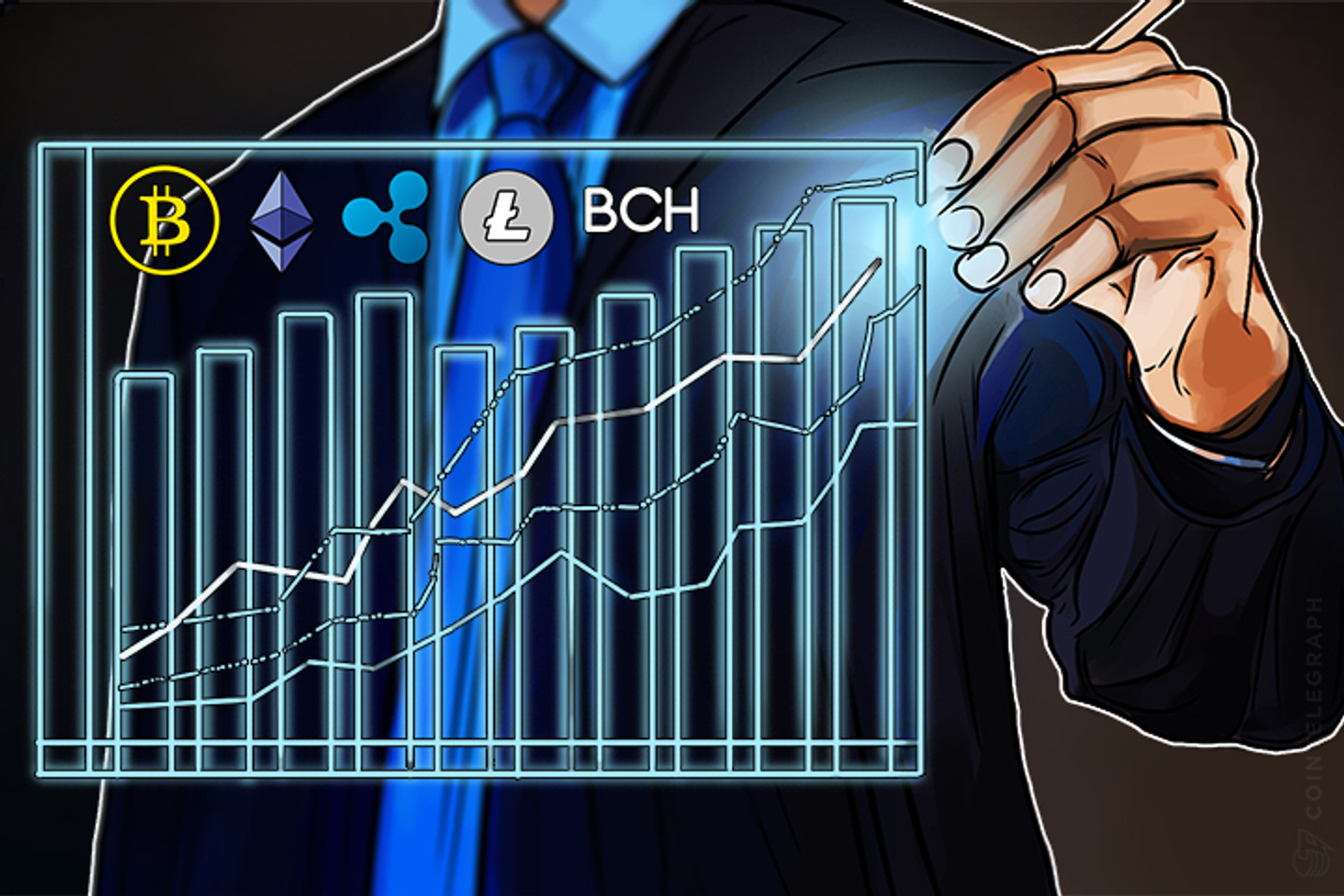 Bitcoin, Ethereum, Bitcoin Cash, Ripple, Litecoin: Price Analysis, August 22