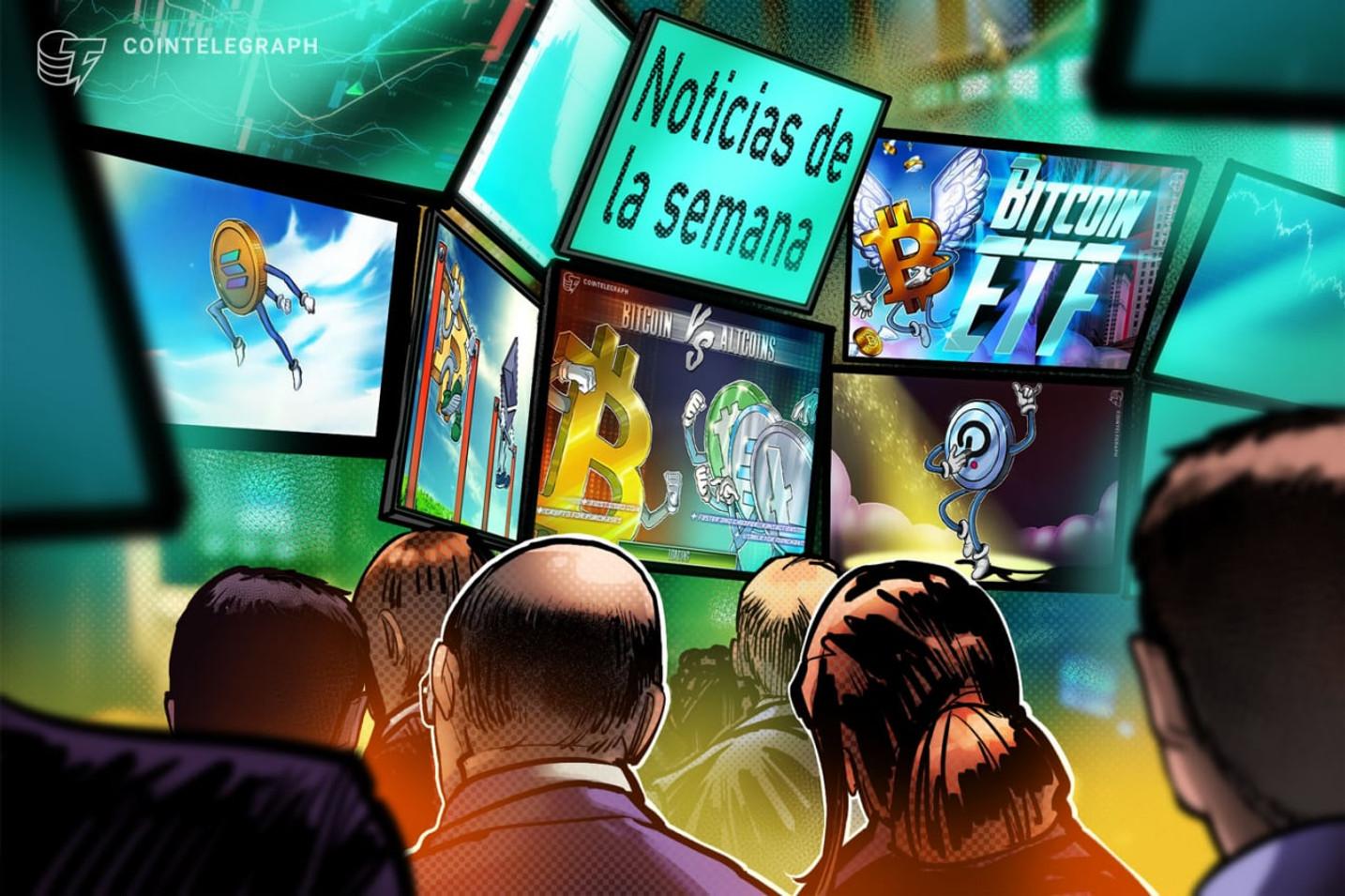 Top criptonoticias de la semana: La quema de Solana, Ethereum subiendo frente a Bitcoin, ETF de Bitcoin y mucho más