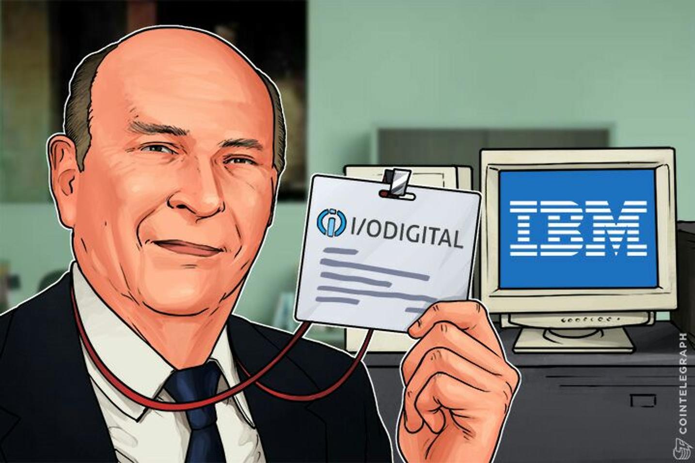 Former IBM President Joins the Blockchain Advisory Board of I/O Digital