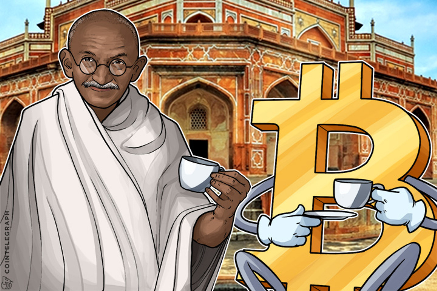 Bitcoin Growth Follows Gandhi's Famous Quote