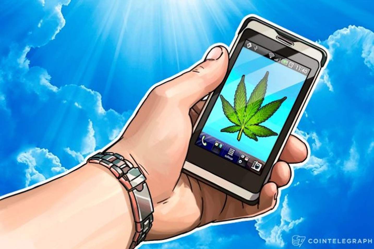 Blockchain to Help Control US Marijuana Industry