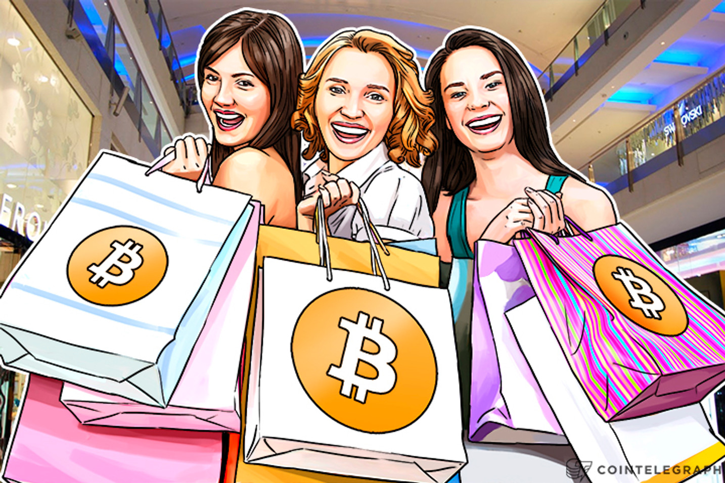 One Percent of US, Chinese Digital Shoppers Pay Online With Bitcoin, Altcoins