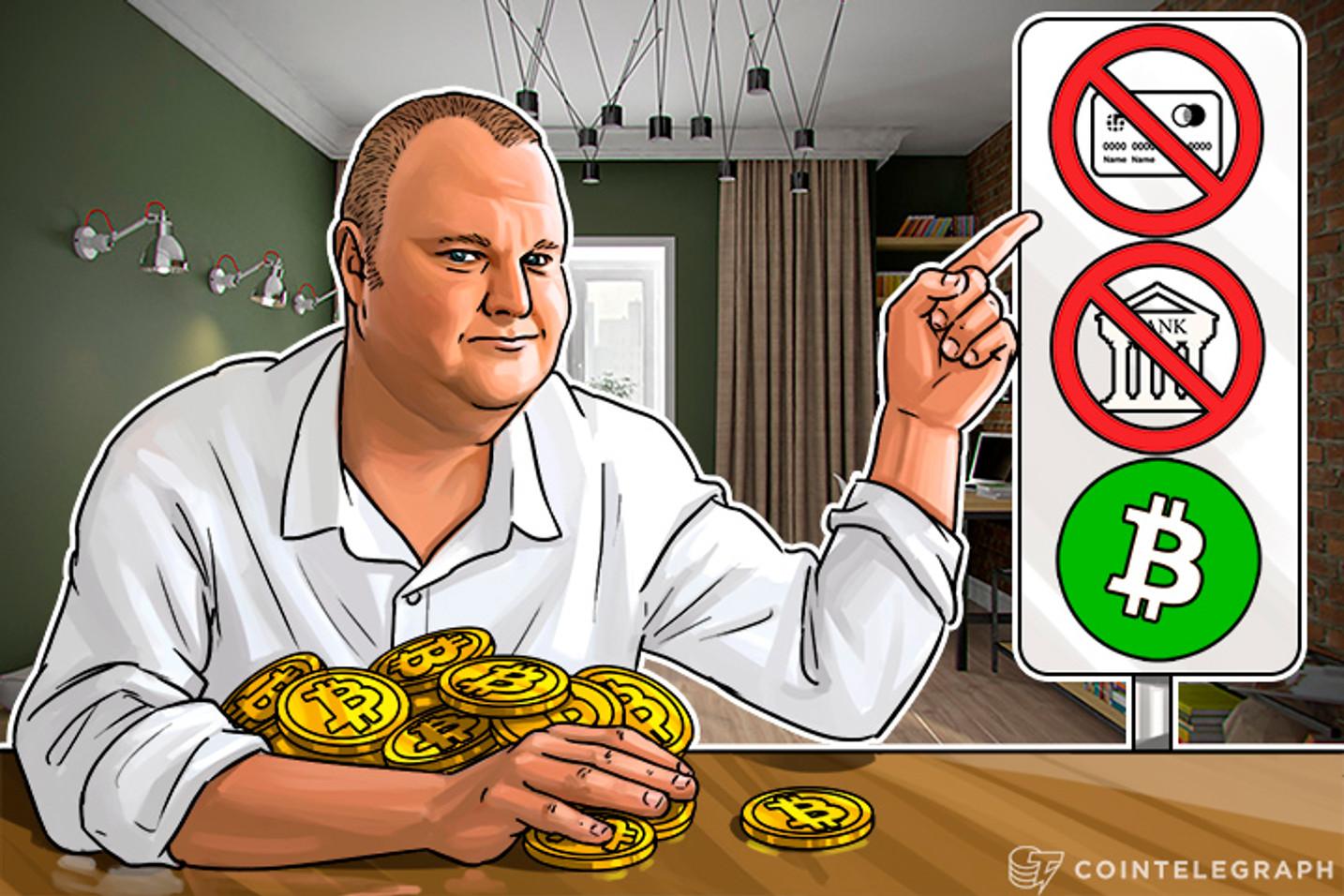 Investors in Kim Dotcom's Megaupload 2 Told To Stock Up On Bitcoin