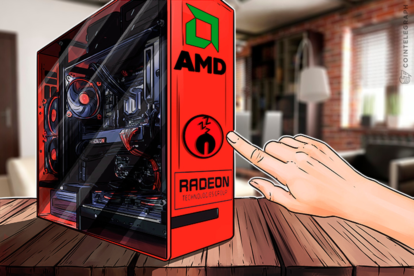 AMD To Break With Crypto Despite Its Rocket Ride Secured by Bitcoin Boom