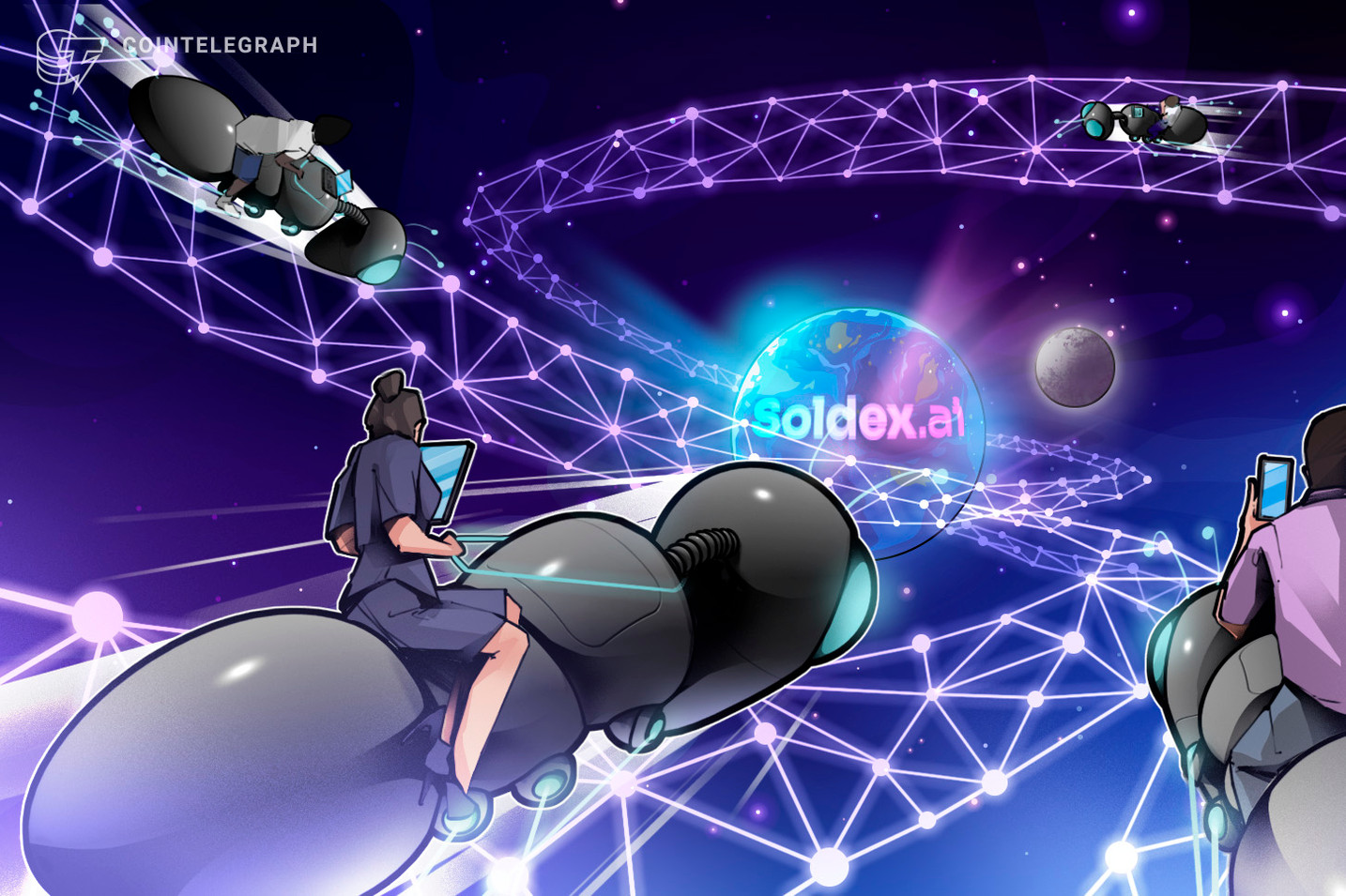 Solana-built decentralized exchange uses AI to make trading more accessible