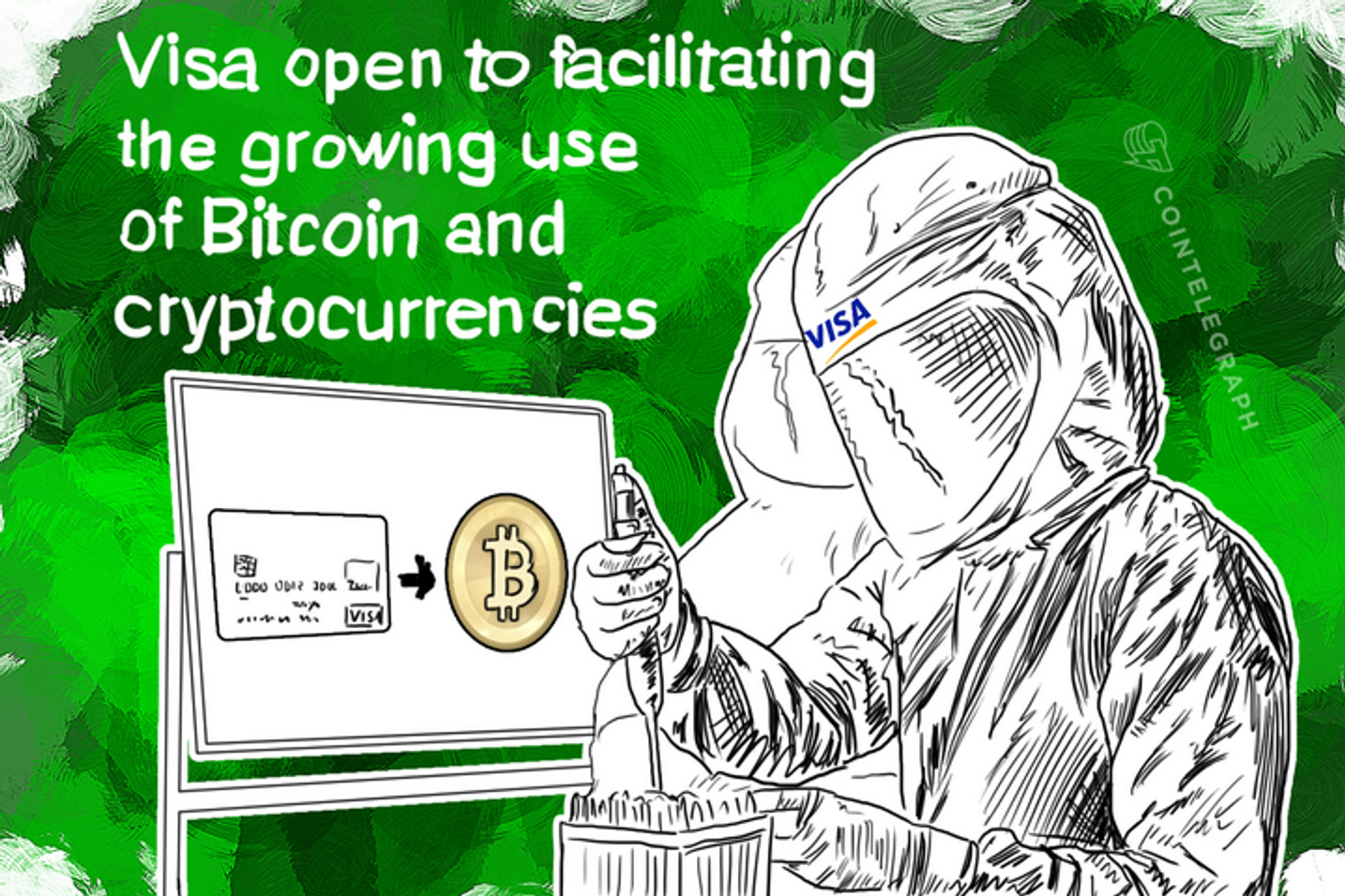 Visa open to facilitating the growing use of Bitcoin and cryptocurrencies