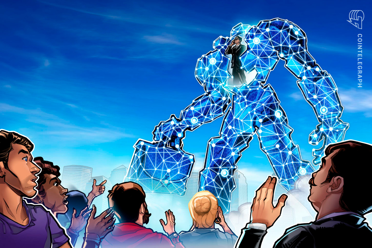 JP Morgan-Backed Firm Partners with Blockchain Startup Run By Former Deloitte Exec
