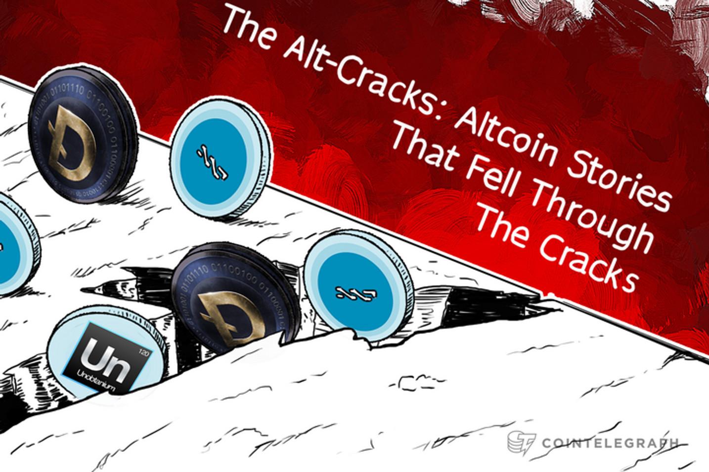 The Alt-Cracks: Altcoin Stories That Fell Through The Cracks