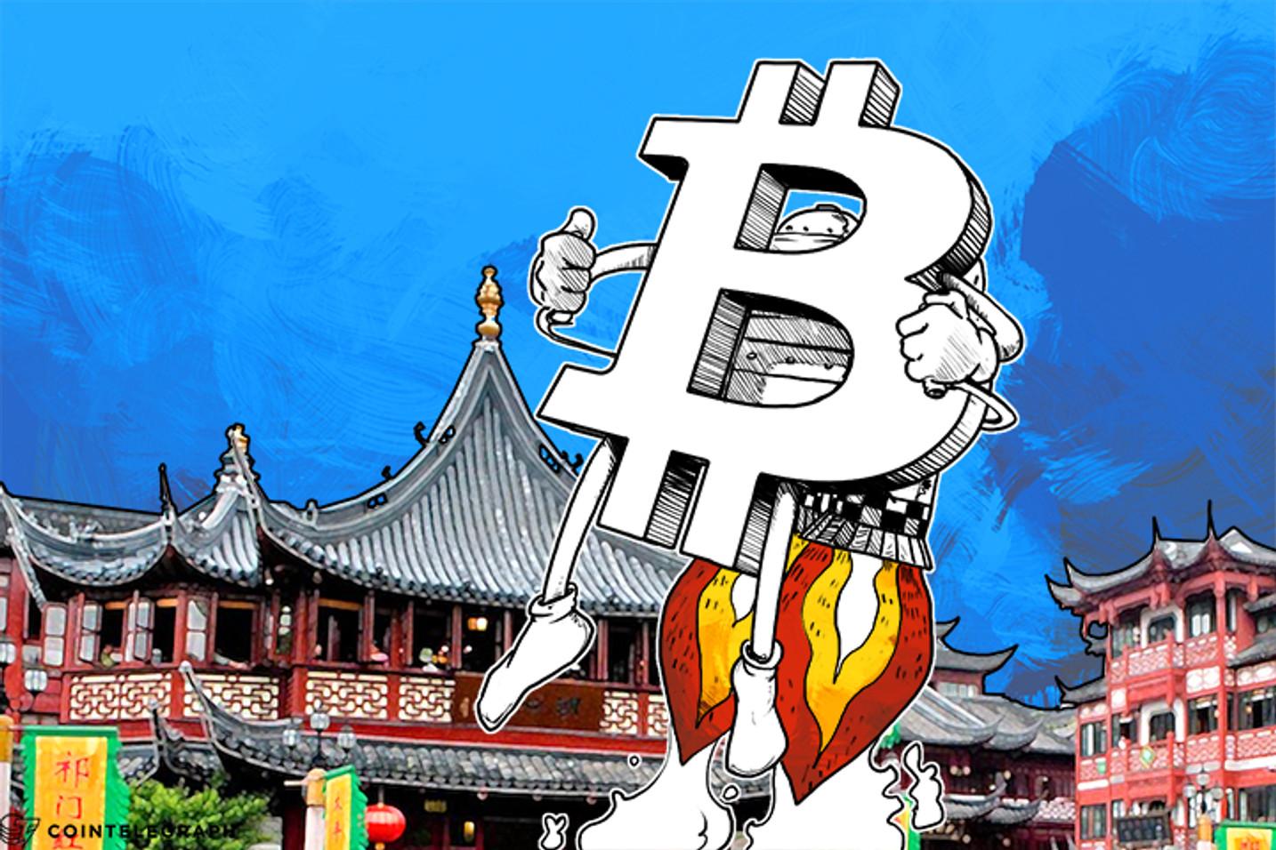 China's Stock Market Freefall a Boon for Bitcoin