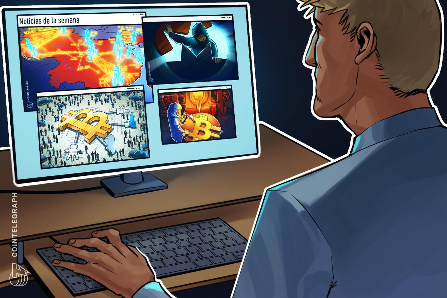 Top criptonoticias de la semana: Mejor momento para invertir en oro y Bitcoin, China se sumerge en la Blockchain, hackers escanean la web para minar criptomonedas y mucho más