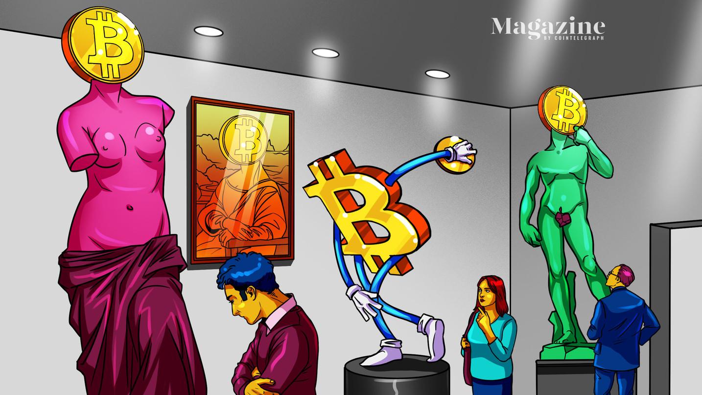 Bitcoin diventa fisico: arte o eresia digitale?