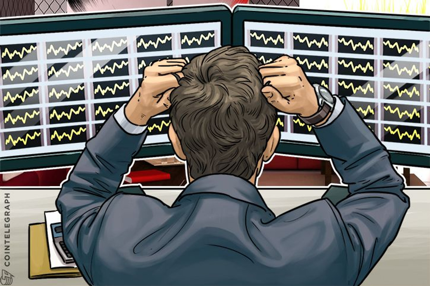 Bitcoin and Altcoins Pull Back From Psychologically Challenging Levels