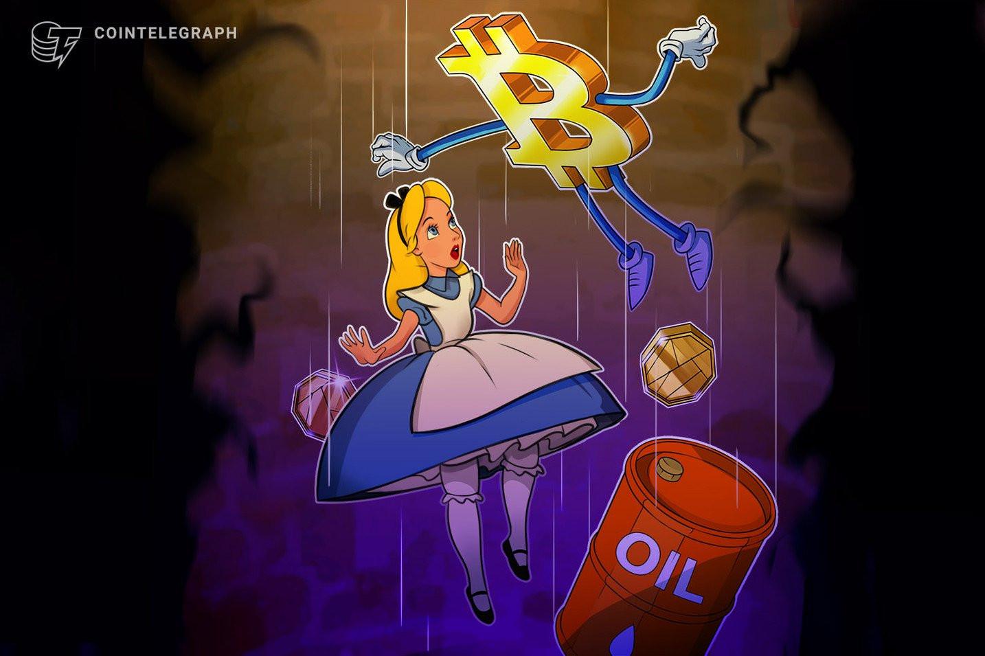 仮想通貨ビットコイン、再び7000ドル下回る NY原油先物は史上初の「マイナス」記録