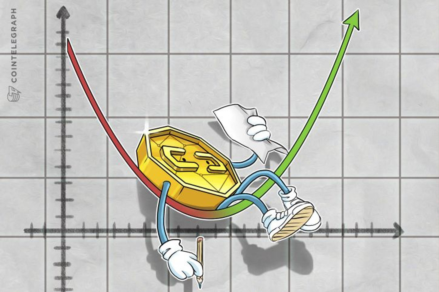 Bearish Markets See Only Slight Gains – BTC Still Below $7k, ETH Testing $500