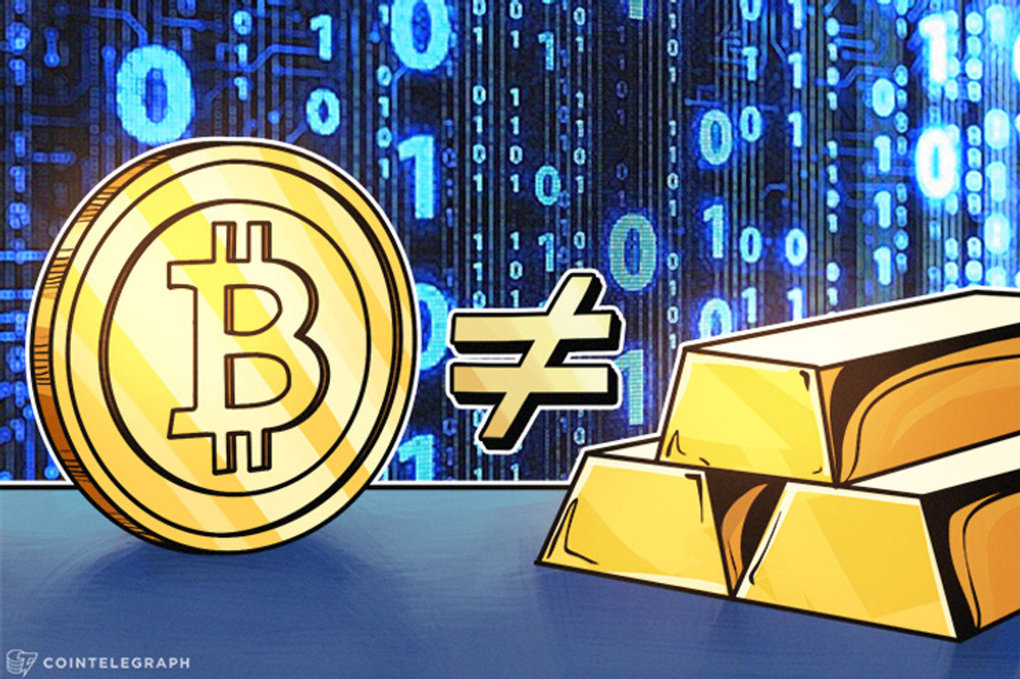"""¿Por qué no comparar peras con manzanas? ¿Por qué Bitcoin no es el """"nuevo oro""""? No seamos tan necios"""