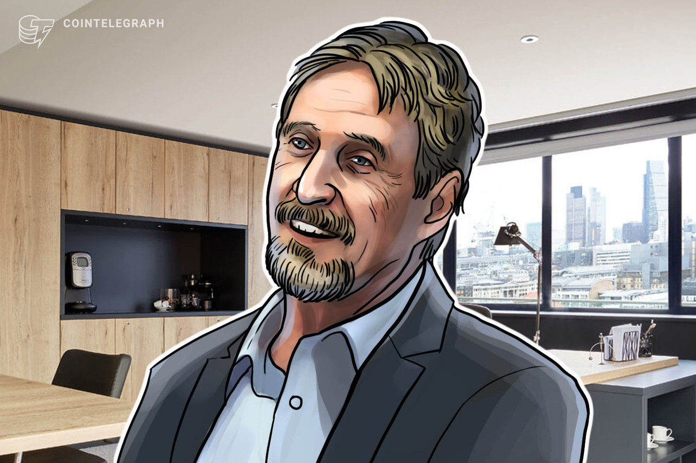 Bloomberg: John McAfee Pauses Plan to Out Satoshi Nakomoto's Identity, Fearing Lawsuit