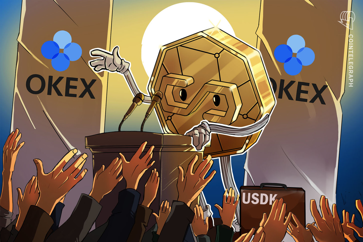 OKLink to Launch USD-Pegged Stablecoin USDK on OKEx Exchange Platform
