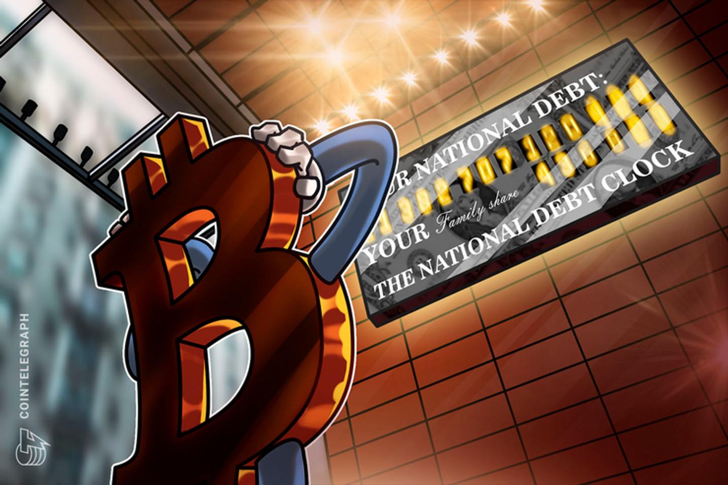 La deuda mundial alcanza nuevos máximos - ¿Es Bitcoin una solución o un beneficiario?