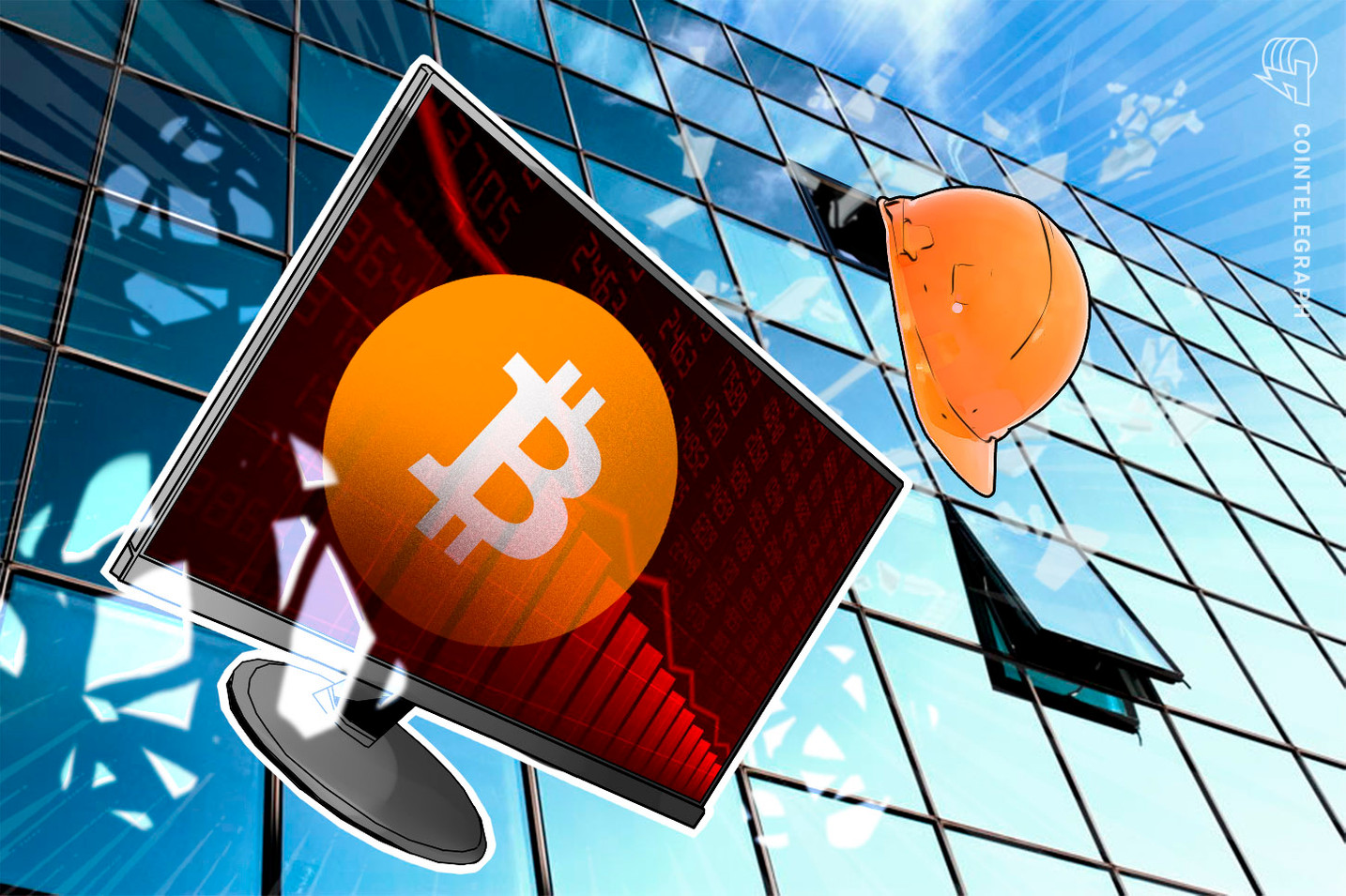 Hashrate do Bitcoin cai 30% - 'Sinal de alta', dizem especialistas