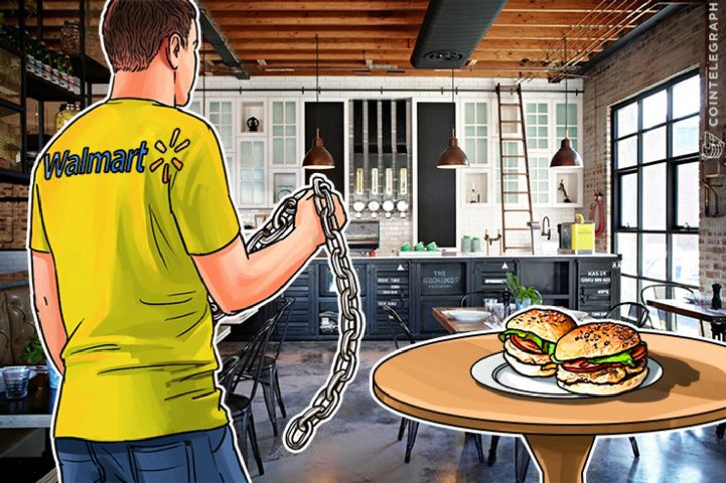 ウォルマートがブロックチェーンを利用した安全な食品管理ソリューションの実験を開始