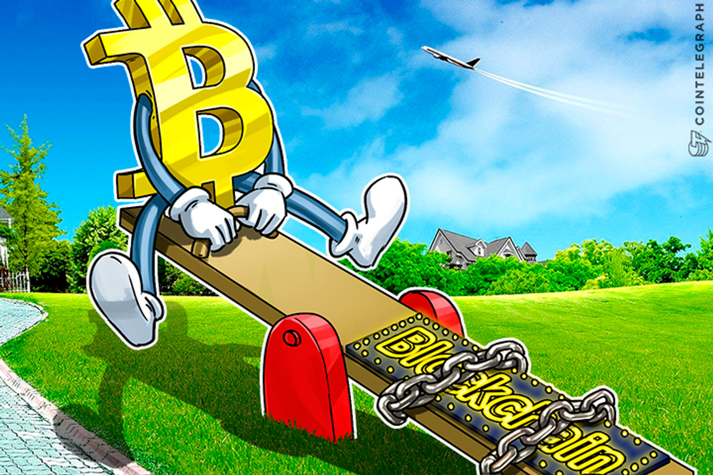 Bitcoin Price Ebbs and Flows Make Bitcoin, Blockchain Two Ends of Seesaw