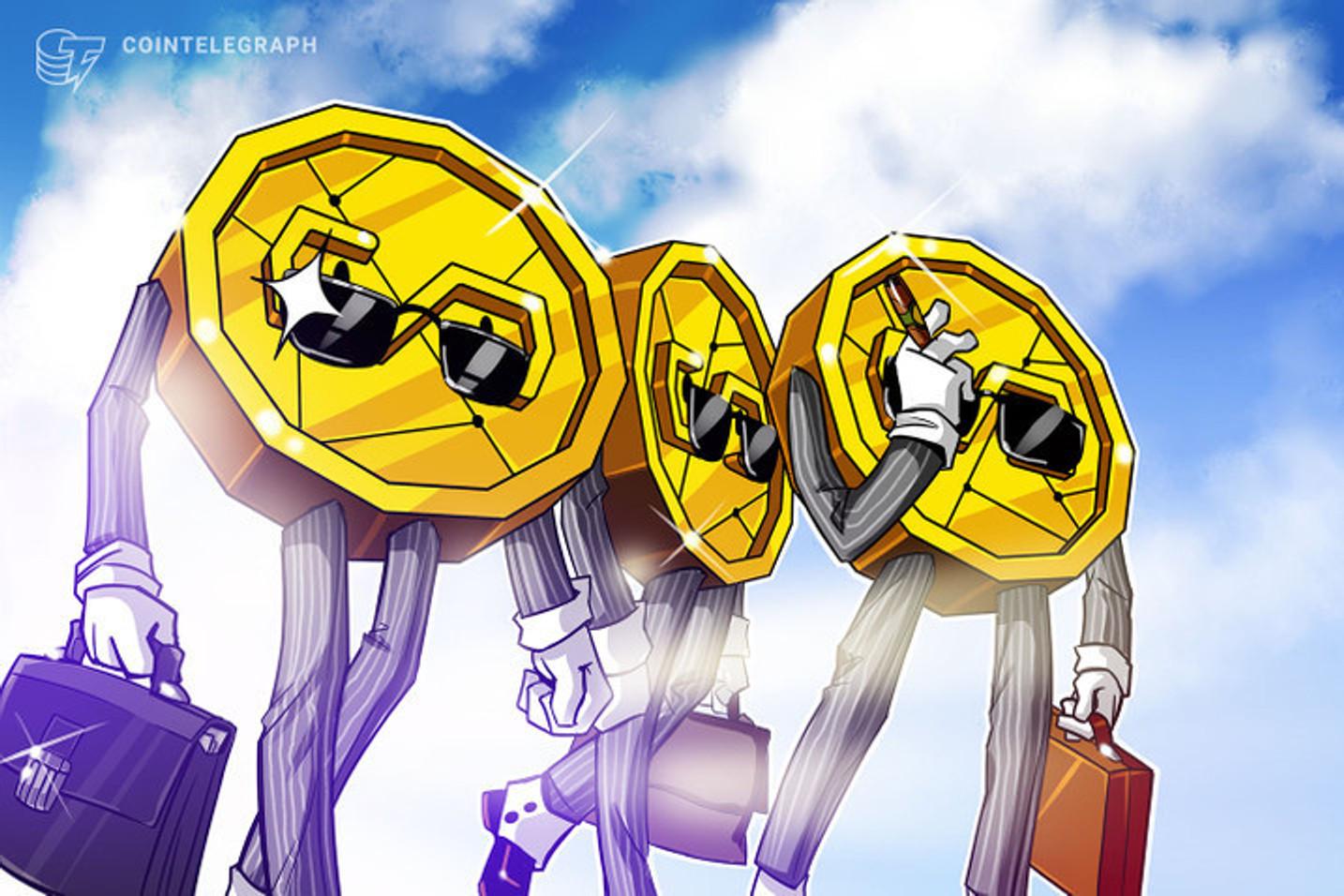 Bitcoin volta a se aquecer e mais três tokens se destacam