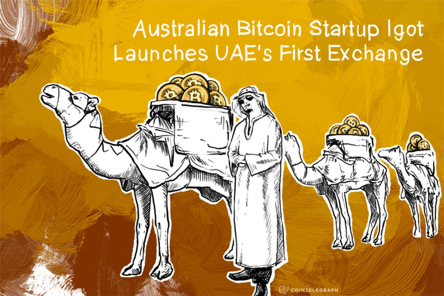 Australian Bitcoin Startup Igot Launches UAE's First Exchange