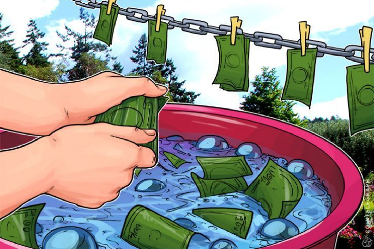 Bitcoin Laundering Less Than One Percent of All Transactions