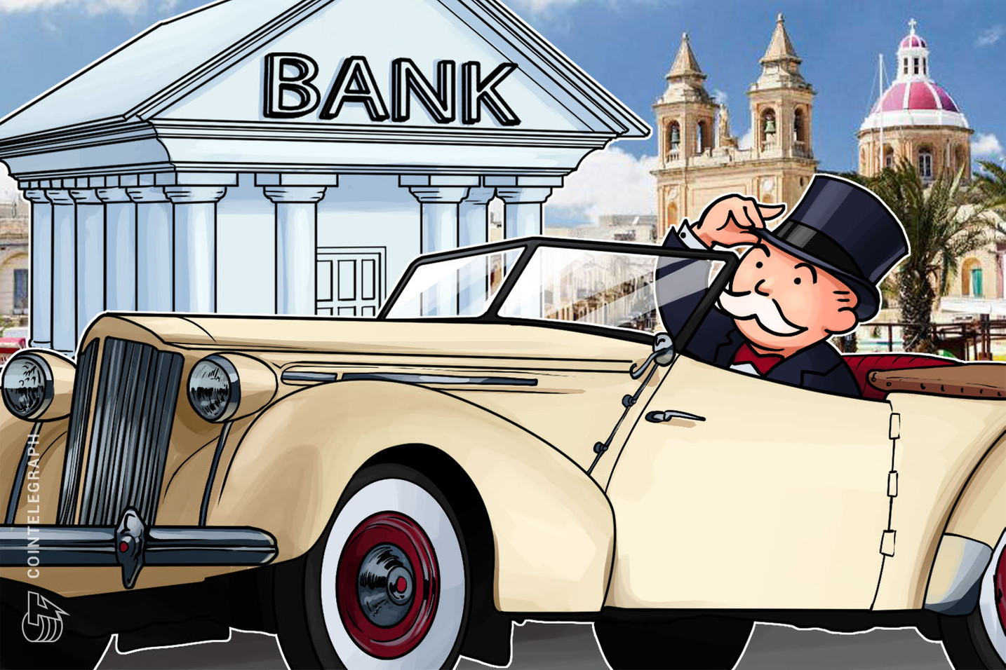 バイナンスがマルタに銀行口座を開設 コインテレグラフの独占インタビューで明らかに