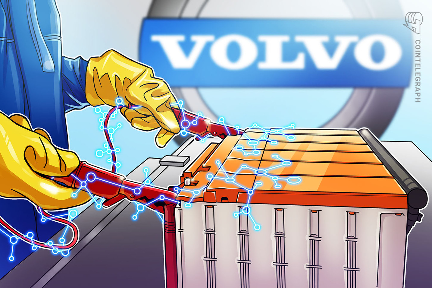 Volvo Invests in Blockchain Startup to Trace Cobalt in Its Batteries