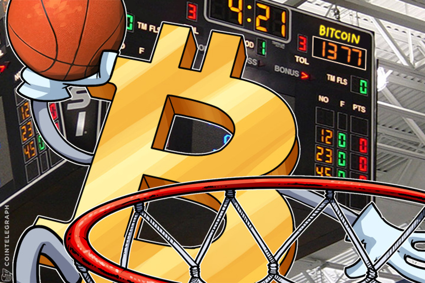 Bitcoin Price Sets New All-Time High at $1,377: Main Factors