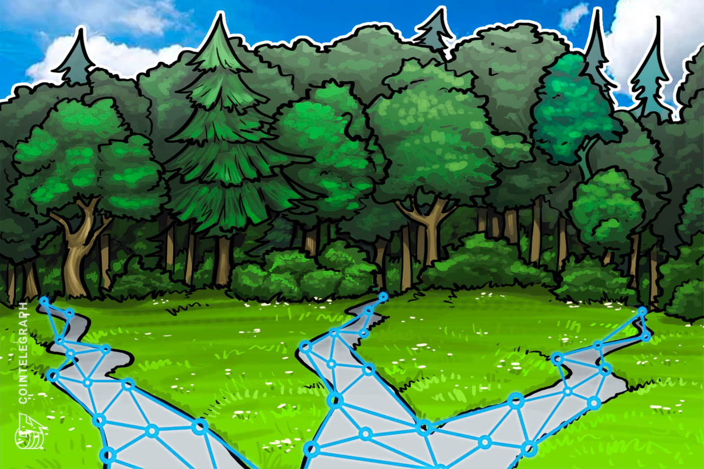 Chinese County Establishes Blockchain Company to Develop Forestry Industry