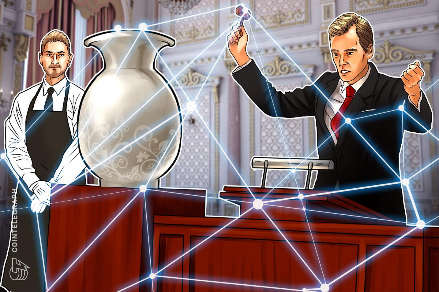 Empresa blockchain de registro de arte adquire banco de dados com informações de 4 mil casas de leilão