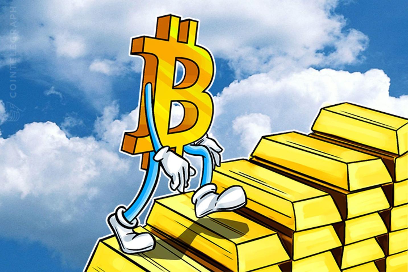 「外の世界が変わっただけ」仮想通貨ビットコインと金の相関アップの兆候も