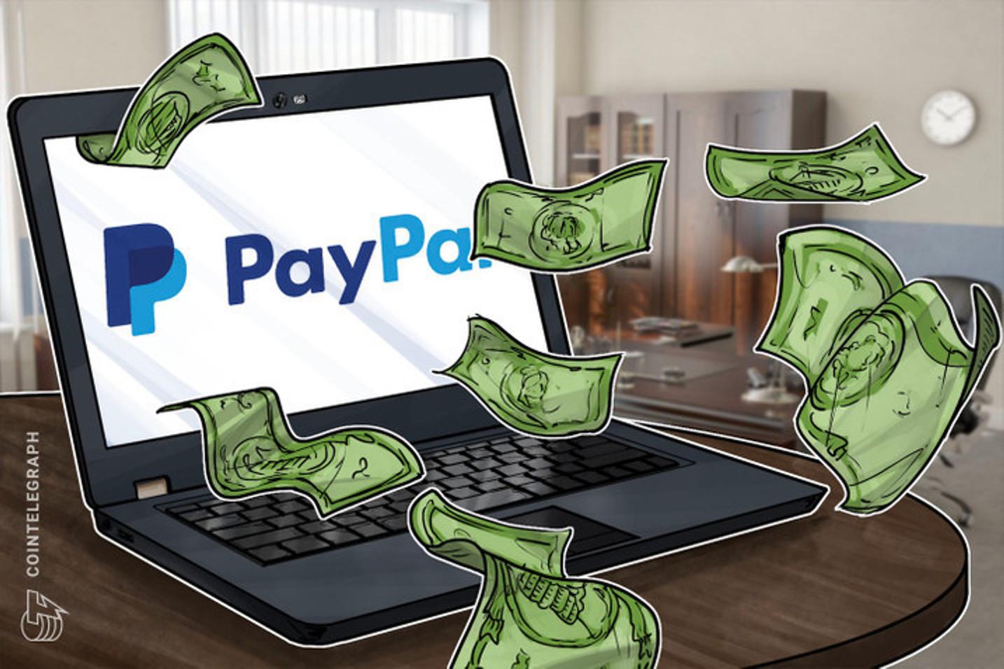 「ルビコン川を渡った」ペイパル仮想通貨参戦でビットコイン一段高