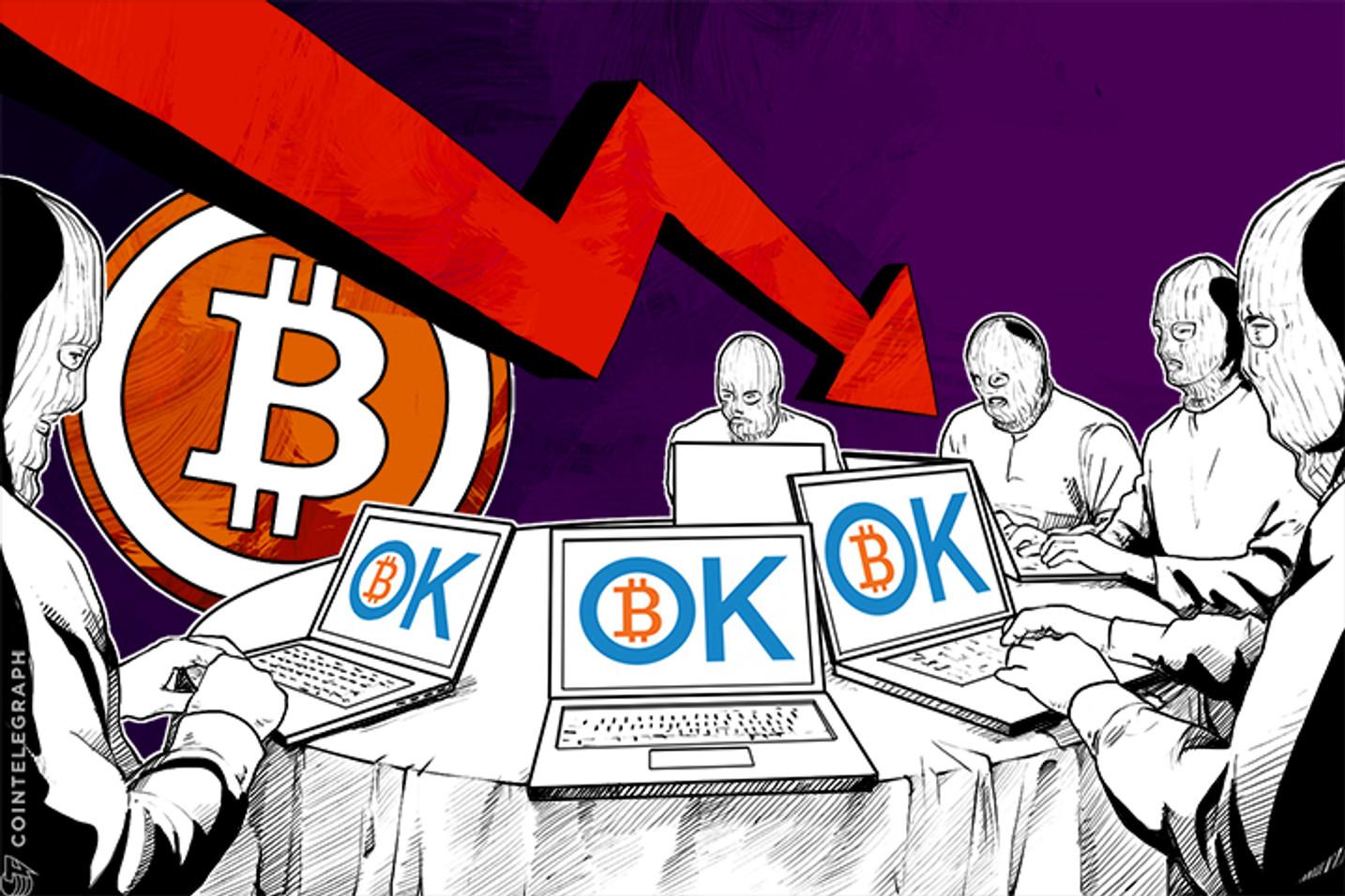 Biggest Bitcoin Exchange OKCoin Suffers Cyber Attack; Price Plummets
