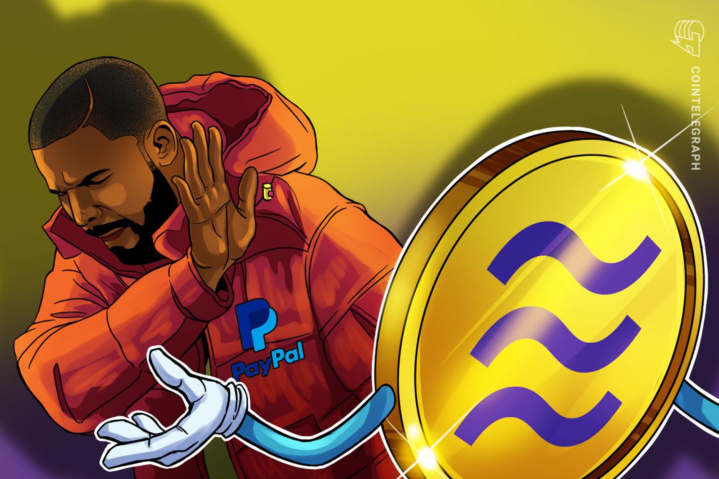 米ペイパル、リブラ協会参加を正式に見送り フェイスブックの独自仮想通貨に痛手