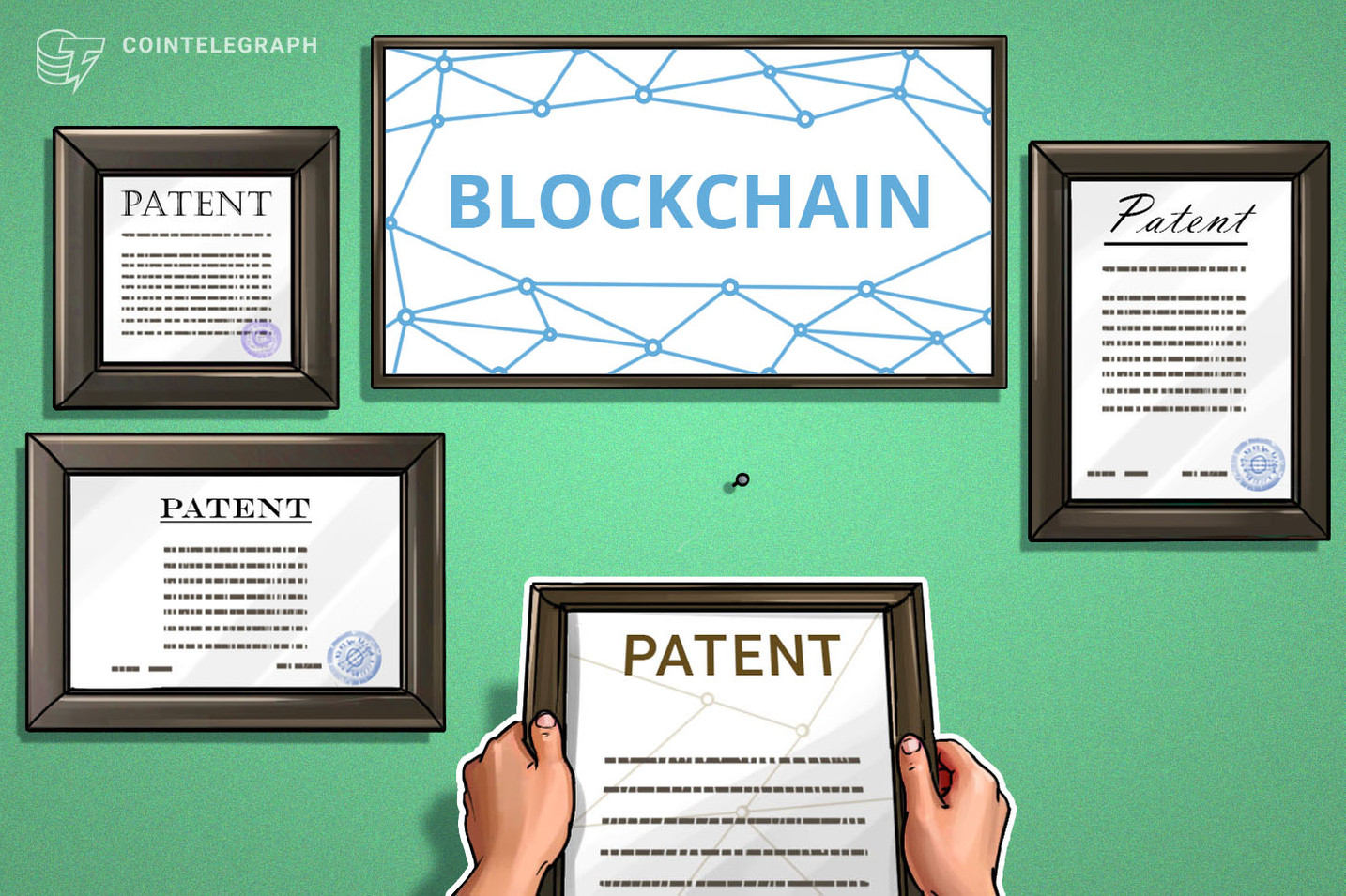 Gli Stati Uniti sono al primo posto per i brevetti blockchain