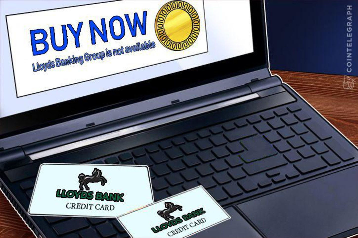 英金融最大手ロイズ  仮想通貨のクレジットカード購入禁止
