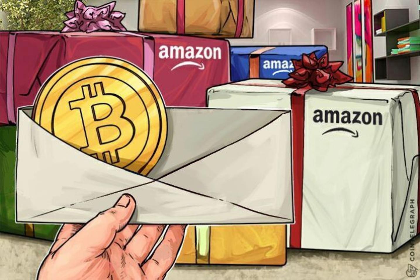 「Amazonが10月にビットコイン決済を導入するかもしれない」という確証のない噂が出回る