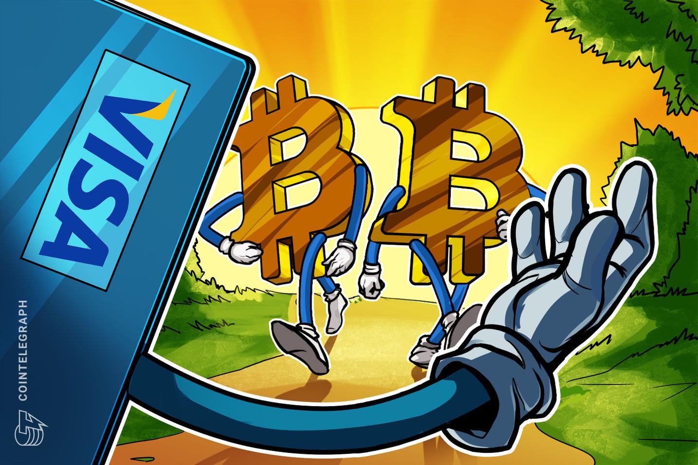 VISA「デジタル法定通貨」の特許を申請 |仮想通貨イーサとの連携も示唆