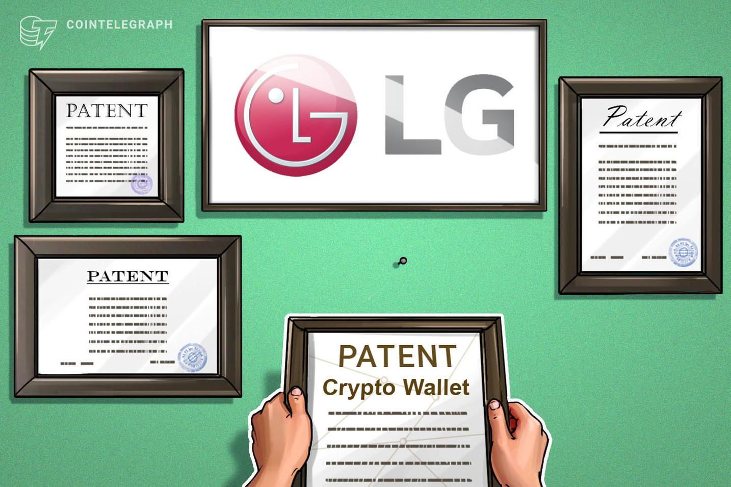 LG requisita nos EUA marca registrada para a carteira cripto 'ThinQ Wallet'