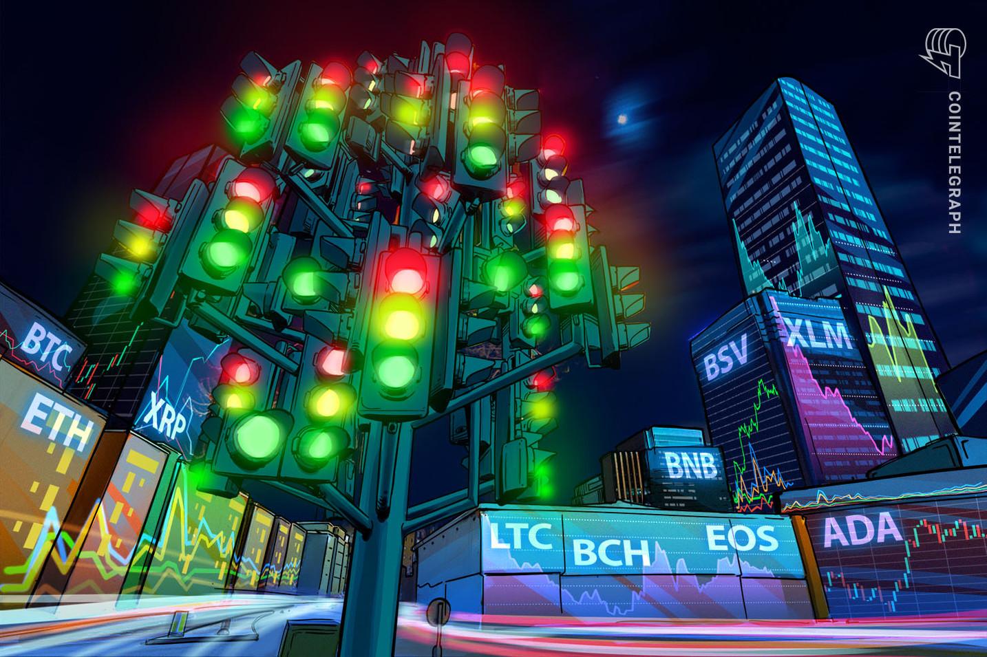 Análise de Preço 30/07: BTC, ETH, XRP, LTC, BCH, BNB, EOS, BSV, XLM, ADA