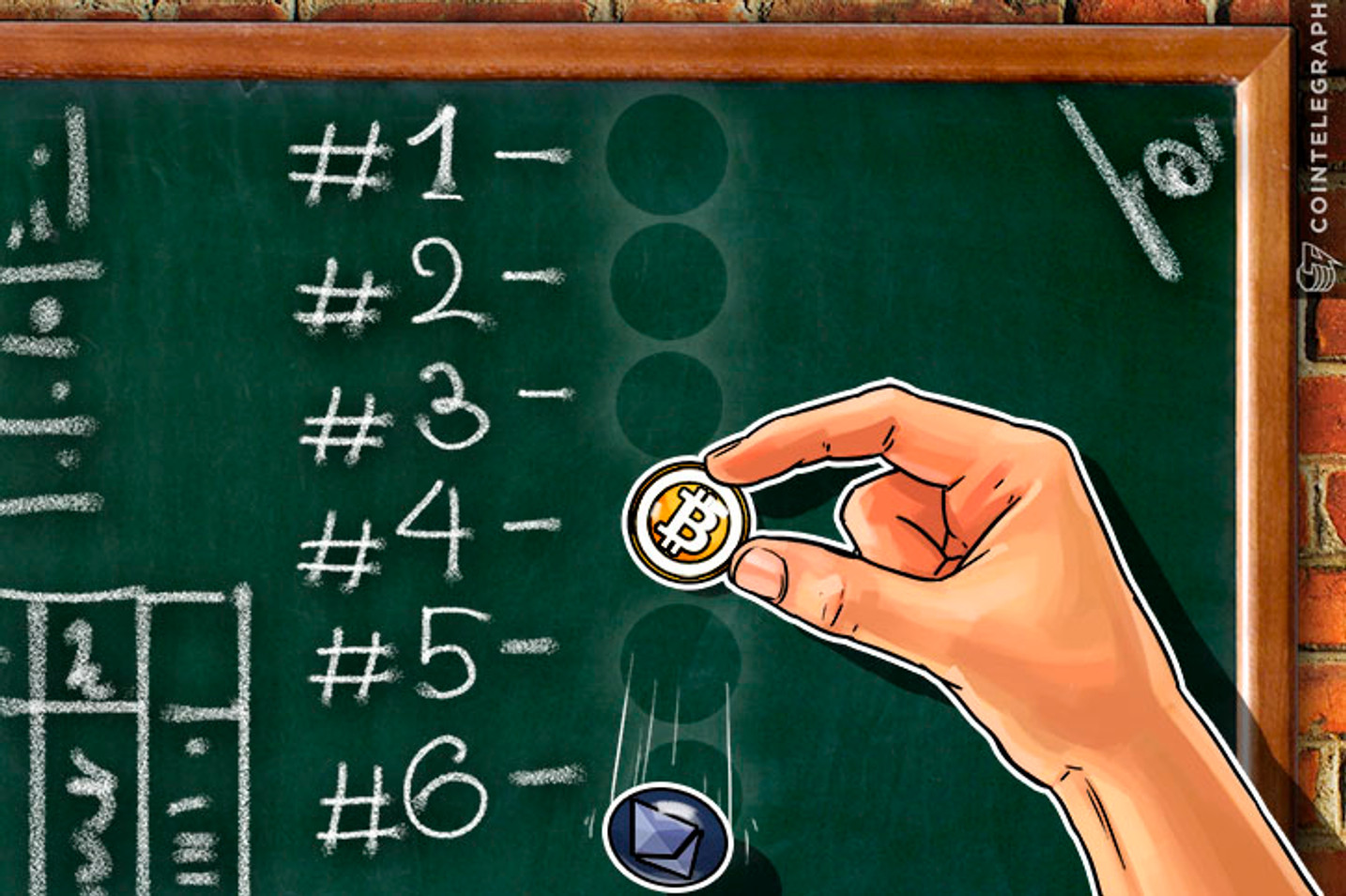 Bubble Trouble: All Top 10 Cryptos Falling At Full Split, Except For Bitcoin
