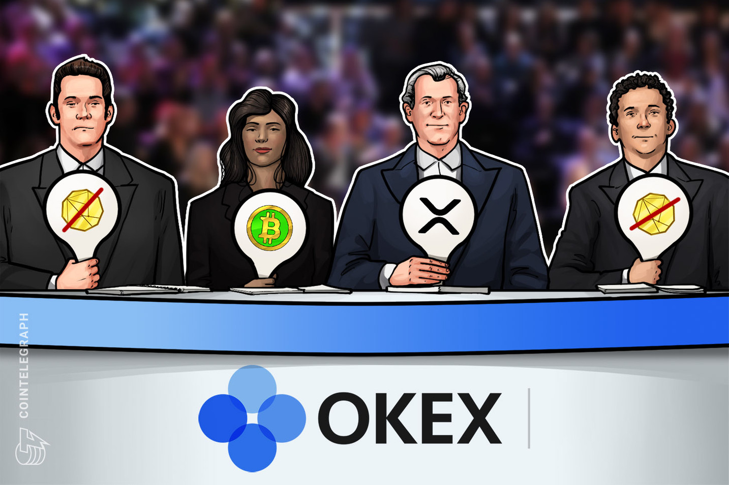 OKEx listet Ripple und Bitcoin Cash auf Customer-to-Costumer Plattform